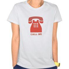 Stylistic Vintage Red Phone Call Me all Colors Tee T Shirt, Hoodie Sweatshirt