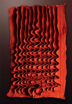 curve, ripple, red,