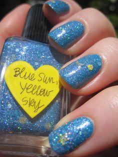 Lynnderella - Blue Sun, Yellow Sky (over Rimmel - Brit Pop) (Love8Brain)