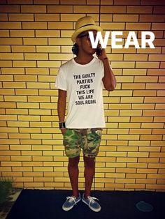 2014年 wacko mariaパナマハット wacko mariaTシャツ HABAN