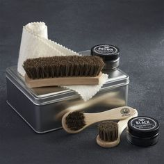 Fuller® Shoe Shine Kit - Keep your concert (recital) shoes looking spiffy!