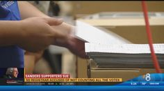 Members of the Citizen's Oversight met Friday at the San Diego Registrar of Voters to blast the voter registrar on what they call a mishandling of ballots.