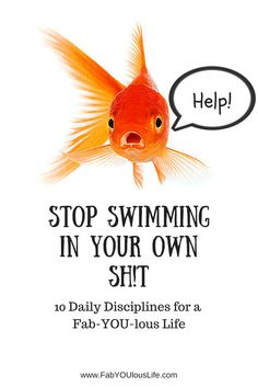 Stop Swimming in Your Own Sh!t: 10           Daily Disciplines for a Fab-YOU-lous Life