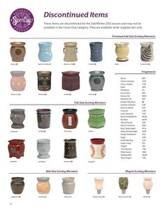 Discontinued items! Available until Aug 31! Https://brookehalfpap.scentsy.us