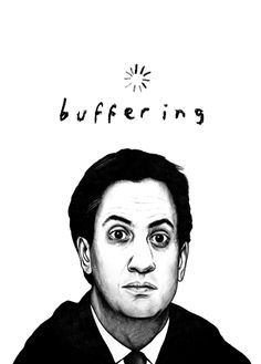 Buffering Ed Milliband by illustrator Marco Bevilacqua