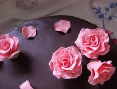25th Chocolate detail | Flickr - Photo Sharing! Chocolate Flowers, Sugar, Detail