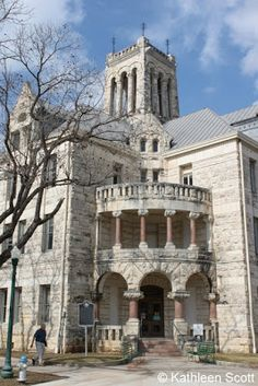 Comal County courthouse, recently restored to 1894 splendor.  Hill Country Mysteries: New Braunfels -- More to do than you knew