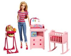 NEW Barbie Careers Babysitter Doll and Playset #Barbie