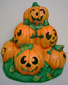 ceramic bisque halloween
