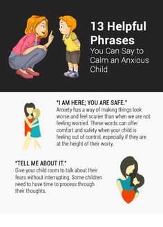 It happens to every child in one form or another – anxiety. As parents, we would like to shield our children from life's anxious moments, but navigating anxiety is an essential life skill that will serve them in the years to come. In the heat of the moment, try these simple phrases to help your children identify, accept, and work through their anxious moments.