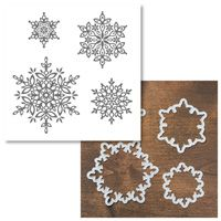 Festive Flurry Clear-Mount Bundle - Stampin' Up  This is so beautiful for stamping!  use with big shot machine from stampin up purchase at erinleerowe.stampinup.net