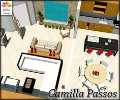 Projeto de Decoração Layout Apartamento