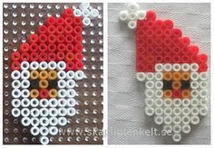 Christmas Santa Claus perler beads