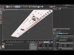 Cinema 4D Mograph模組特效製作教學 - Card Dealing - YouTube