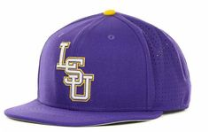 Support your LSU Tigers with a Nike Authentic Vapor Fitted cap, featuring a raised embroidered team logo at front. Fitted Structured fit High crown Normal bill Raised embroidered team logo at front Nike swoosh logo at back Polyester/cotton Spot clean only