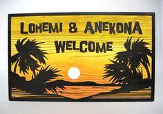 空気がおいしい早朝のハワイの海岸沿いの散歩、昇り行く太陽、待っているのはスローライフ。そんな情景が浮かんでくるデザイン。