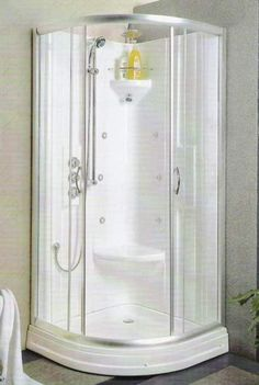 Bathroom, The Ideal Corner Shower Stalls for Small Bathrooms : corner shower stalls for small bathrooms acquinox