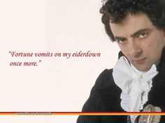"""Atkinson Developing """"Black Adder"""" Film ~ the2scoops"""