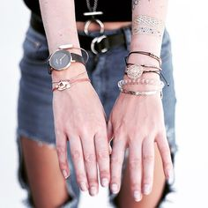 Some PRTTY handcandy ... yes you totally should combine it with you favorite bracelets  #armcandy #skincandy #bracelets #ripedjeans #prtty #feelprtty #prttyme