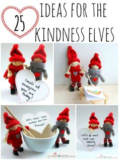 25 Ideas for the Kindness Elves - The Imagination Tree Preschool Christmas, Christmas Activities, Christmas Projects, Christmas Traditions, Holiday Crafts, Holiday Fun, Ideas For Christmas, Fun Projects, Holiday Ideas