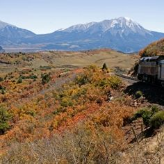 Rio Grande Scenic Railroad There's perhaps no better way to experience Colorado's San Luis Valley than via the Rio Grande Scenic Railroad's Art Deco-style club cars. The sunset dinner ride offers cocktails and a meal, plus amazing views of Colorado's peaks.