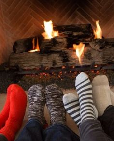 There is nothing like being by the fire with friends, a hot cup of cocoa in hand as the snow falls outside.