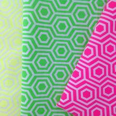 Neon & On fabric Sneak Peek Camelot Fabrics