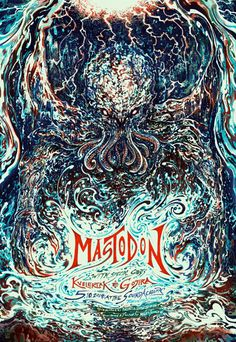 GigPosters.com - Mastodon - Gojira - Kvelertak
