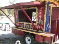 instructables how-to build your own gypsy sales trailer - great graphics & detail