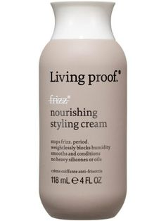 Living Proof No Frizz Nourishing Styling Cream. THIS STUFF IS AWESOME!! WORKS LIKE MAGIC!