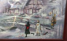 Pop-culture characters enter old thrift-store paintings - by David Irvine Thrift Store Art, Art Store, Thrift Stores, Cultura Pop, Spiderman, Old Paintings, David, Illustrations, Old Art