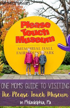 If you are in the Philly area, the Please Touch Museum is a must see for all families with younger kids!   Our Three Peas