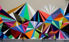 Matt W. Moore – MWM Graphics – Geometry Murals