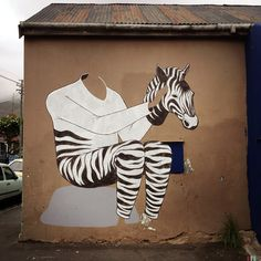 Interesni Kazki New Mural In Progress, Cape Town, South Africa StreetArtNews