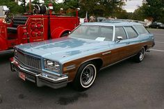 Before the minivan was a twinkle in Lee Iacocca's eye, the Buick Estate Wagon was among the vehicles of choice for affluent families. This example, a 1975 or '76, aptly shows just how big these vehicles had become. By some accounts, these were the largest and heaviest wagons ever built, giving their 455 cu. in. V-8 engines something to work against.