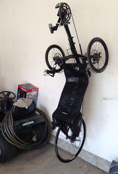 I Used The Racor Bike Hanger To Hang My Recumbent Bike Trike
