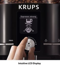 KRUPS EA8250 Espresseria Fully Automatic Espresso Machine Automatic Espresso Machine, Best Espresso Machine, Coffee Maker Machine, Drip Coffee Maker, Roast, Website, Detail, Classic, Tips