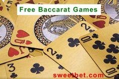 Free Baccarat games. Play free online Baccarat games for as long as you want. There is no need to download any software. Simply choose the game that you want to play, click on it and start playing.