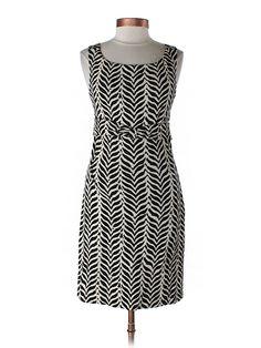 Diane von Furstenberg dress in chic black and white