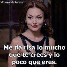 Boss Bitch Quotes, Badass Quotes, Spanish Inspirational Quotes, Spanish Quotes, Woman Quotes, Me Quotes, Funny Quotes, Jenny Rivera Quotes, Mexican Quotes