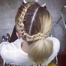 Image result for unusual ponytails