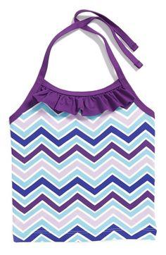 Toddler Girl's Tea Collection 'Varkala Beach' Tankini Top