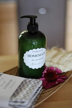 Domácí jar na nádobí ... | Moje milé radosti ... | Bloglovin' Soap, Homemade, Bottle, Flask, Hand Made, Soaps, Do It Yourself, Jars