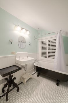 Clawfoot Tub Shower Design Ideas, Pictures, Remodel and Decor