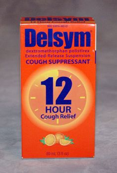 One of my favorite cough suppressants! Delsym is truly the best when it comes to over the counter cough medicines! AND it tastes great!