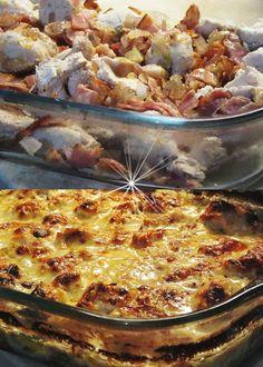 Cookbook Recipes, Cooking Recipes, Greek Recipes, Hawaiian Pizza, Paella, Casserole, Grilling, Food And Drink, Kai
