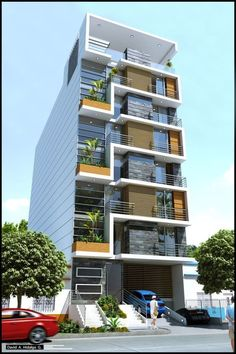 40 Amazing Apartment Building Facade Architecture Design For over 100 years, architectural design and height have been two of the main features that distinguished iconic buildings, buildings Architecture Building Design, Building Facade, Facade Design, Building Elevation, Building Exterior, Building Designs, Residential Building Design, Residential Architecture, Modern Architecture
