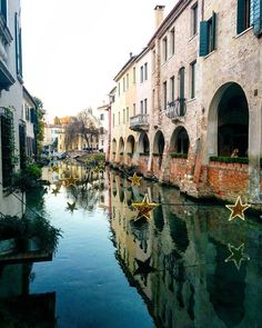 Treviso a 🌌 in Treviso 🌌 Postcards From Italy, Places, Instagram Posts, Christmas, Xmas, Weihnachten, Navidad, Yule, Noel