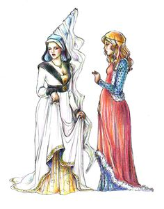 Medieval costume by Keigankun.deviantart.com on @DeviantArt