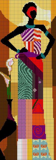 Cross stitch patterns: African